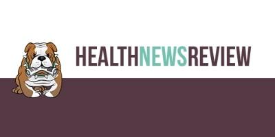 Health News Review logo